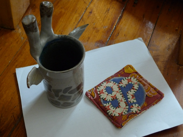 Giraffes? Giraffes! mug and coaster
