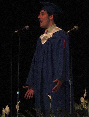 Brian Maxsween, singing