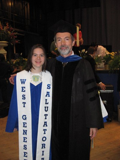 Me with Dr. Rudolph Rubeis, West Genesee Superintendant